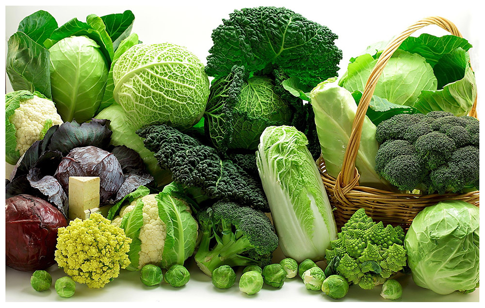 vegetables cabbage broccoli cauliflower food 10842