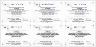 Hi Zupa got the quality management system certification for